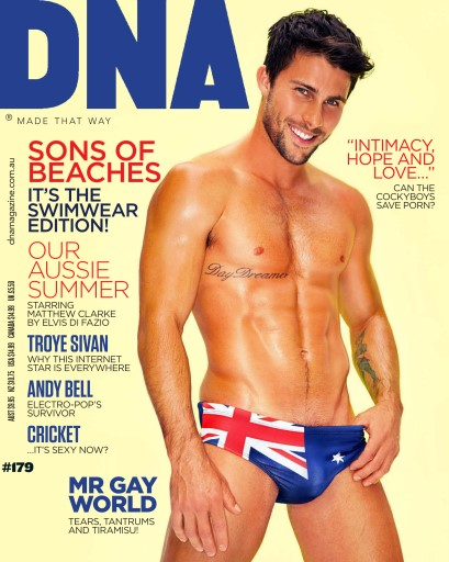 Gay Interest DNA Magazine Issue 125 Male Semi Nudes Photo Back Issue 6x4 Fratboy