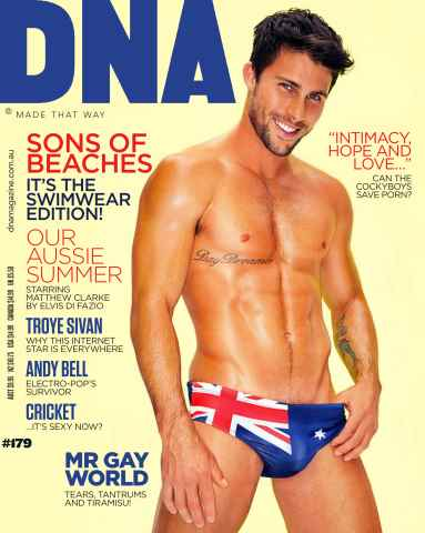DNA Magazine issue # 179 - Swimwear