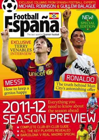 Football España issue August 2011