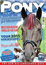 Pony Magazine issue PONY Magazine - January 2015 (Issue 794)