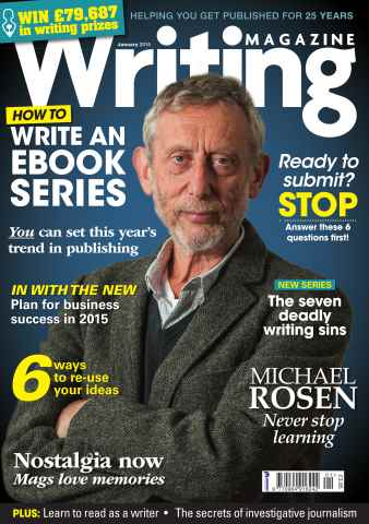 Writing Magazine issue January 2015