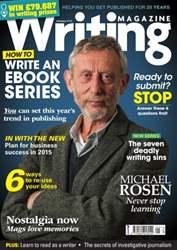 Writing Magazine issue January 2015