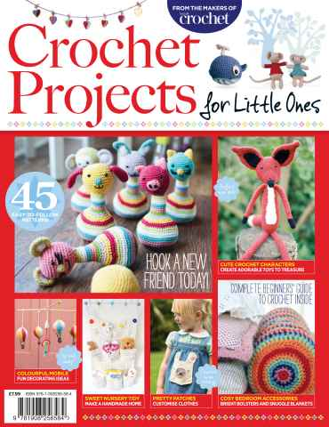 Inside Crochet issue Crochet Projects For Little Ones