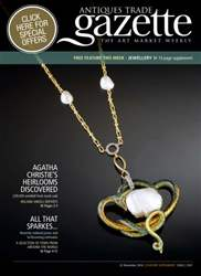 Antiques Trade Gazette issue ATG Jewellery Feature 2167
