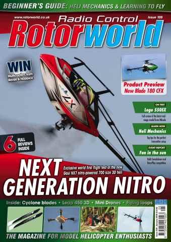 Radio Control Rotor World issue Jan  105