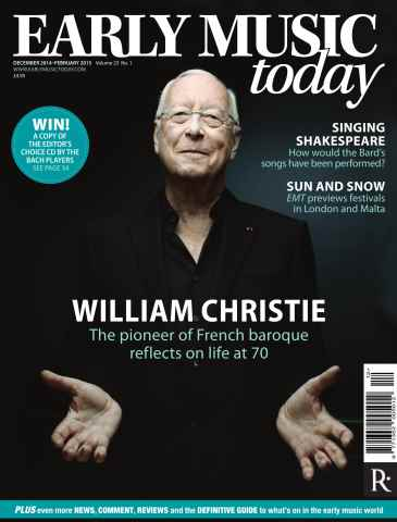 Early Music Today issue Dec 2014 - Feb 2015