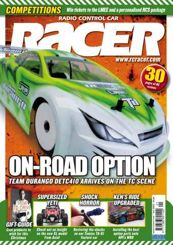 Radio Control Car Racer issue Jan 15