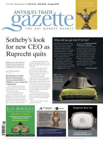 Antiques Trade Gazette issue ATG Issue 2168
