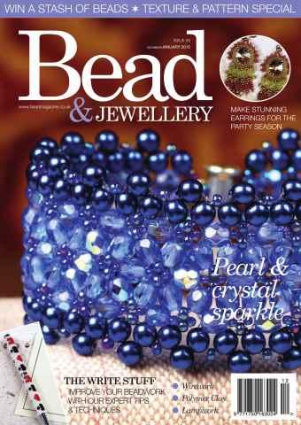 Bead Magazine issue DEC/JAN 15