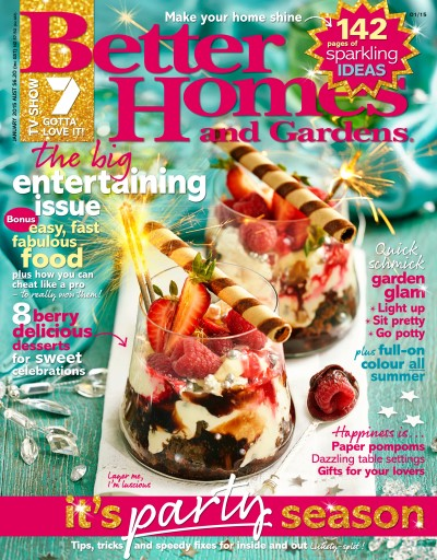 Better Homes and Gardens Australia Magazine January 2015