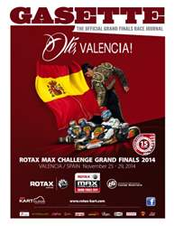 ROTAX MAX CHALLENGE GRAND FINALS 2014 issue ROTAX MAX CHALLENGE GRAND FINALS 2014