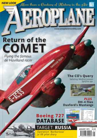 Aeroplane issue January 2015