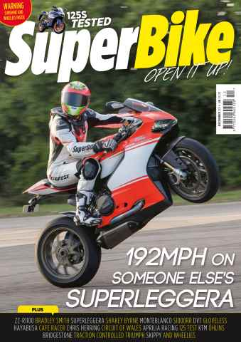 Superbike Magazine issue December 2014