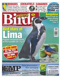 Cage & Aviary Birds issue No.5831 Bird Stars of Lima