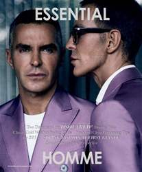 Essential Homme issue December 2014 - January 2015