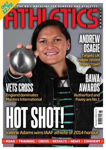 Athletics Weekly issue 27/11/2014