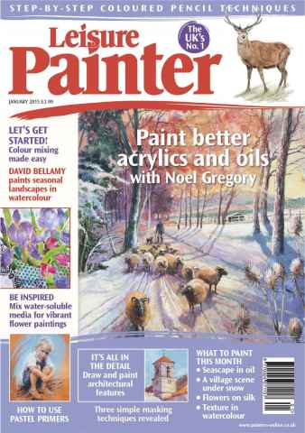 Leisure Painter issue  January 2015