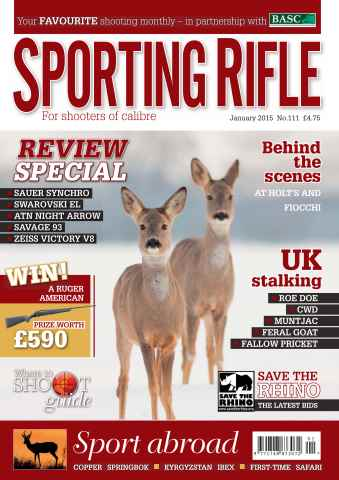 Sporting Rifle issue January 2015
