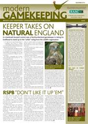Modern Gamekeeping issue DECEMBER 2014