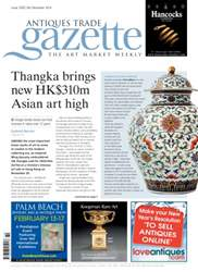 Antiques Trade Gazette issue ATG Issue 2169