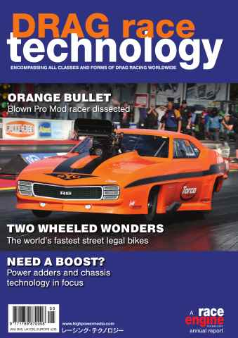 DRAG Race Technology issue Volume 5 - November 2014