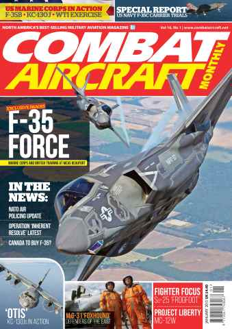 Combat Aircraft issue January 2015