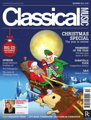 Classical Music issue December 2014