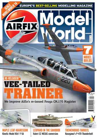 Airfix Model World issue January 2015
