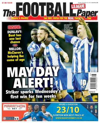 The Football League Paper issue 30th November 2014