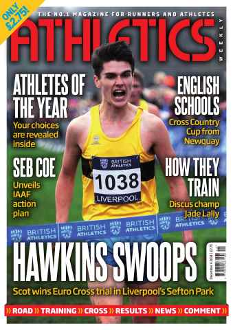 Athletics Weekly issue 04/12/2014