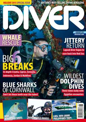 DIVER issue JANUARY 2015