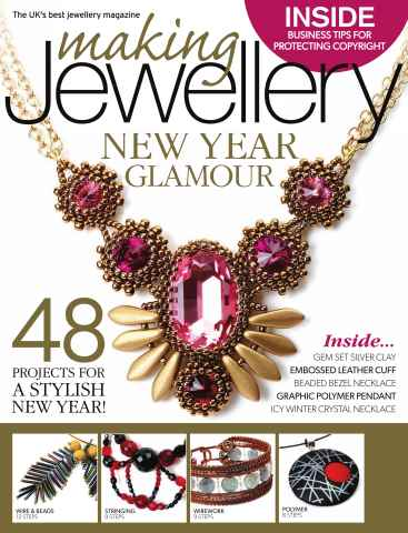 Making Jewellery issue January 2015