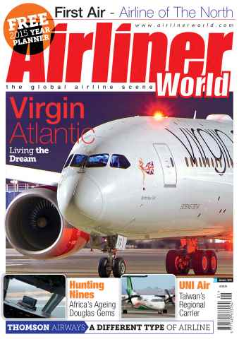Airliner World issue January 2015