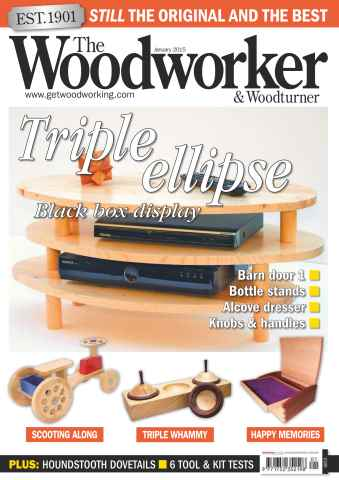 The Woodworker Magazine issue January 2015