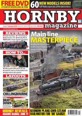 Hornby Magazine issue January 2015