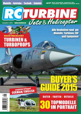 RC Turbine - Jets & Helicopter issue 2015
