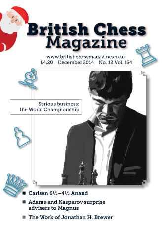 British Chess Magazine issue December 2014