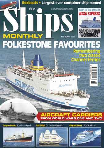 Ships Monthly issue No.602 Folkestone Favourites