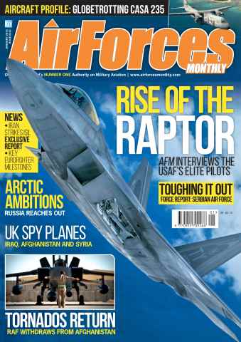 AirForces Monthly issue January 2015