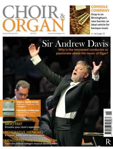 Choir & Organ issue Jan - Feb 2015