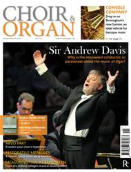 Choir & Organ issue Jan - Feb 2015
