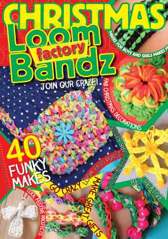 Making Jewellery issue Christmas Loom Bandz Factory
