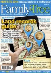 Family Tree issue Family Tree January 2015