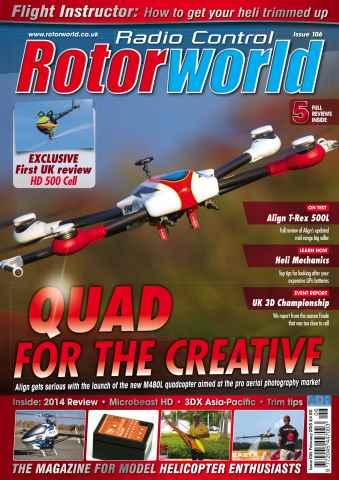 Radio Control Rotor World issue Feb 106
