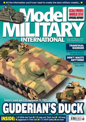 Model Military International issue 106