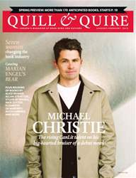 Quill & Quire issue January February 2015