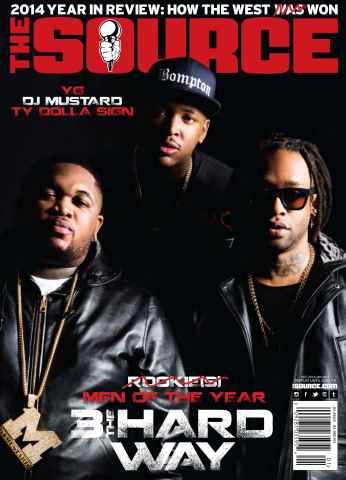 The Source Magazine issue #264 The Source Magazine Black Cover