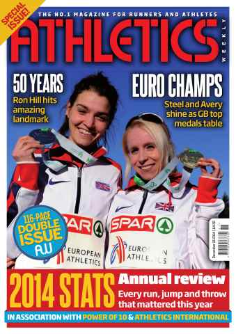 Athletics Weekly issue 18/12/2014