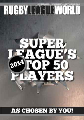 Rugby League World issue League's Top 50'