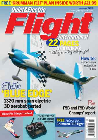 Quiet & Electric Flight Inter issue January 2015